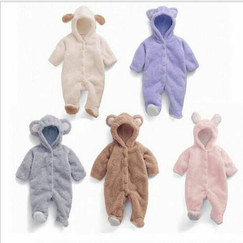 Girl Hooded Bodysuit Outfits M