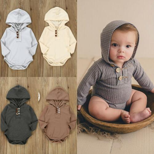 US Boy Long Hooded One-Pieces