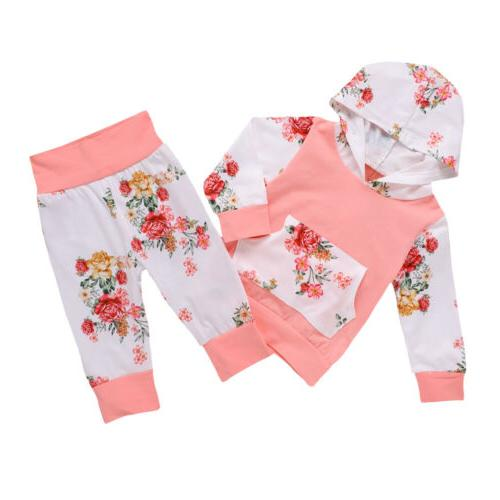 Girl Floral Tops Pants