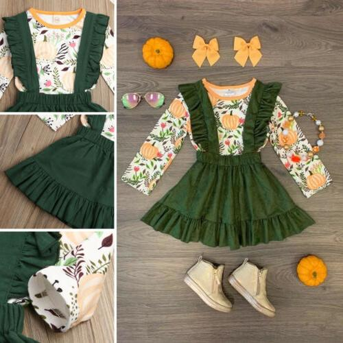 US Baby Girl Halloween Clothes Tops