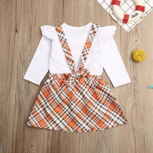 US Girl Top Skirt Outfit