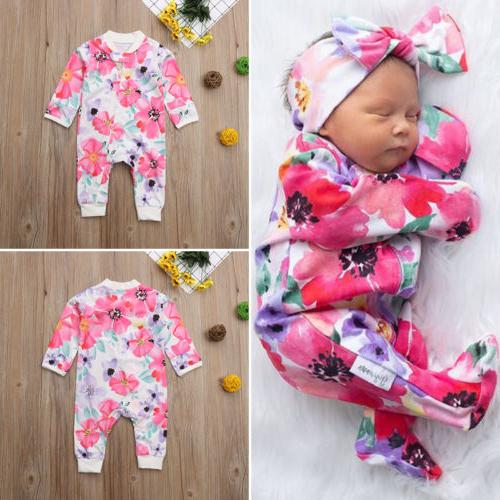US Toddler Girl Romper Jumpsuit Clothes