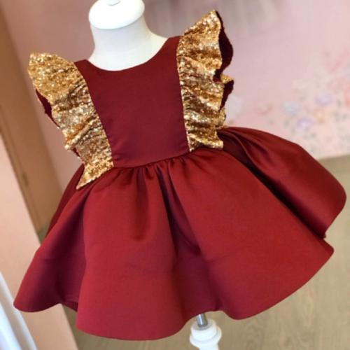 Dress Princess Sequin Party Birthday Pageant