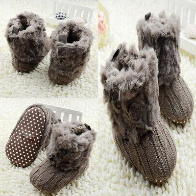 New Cotton Knitted Boots Crib
