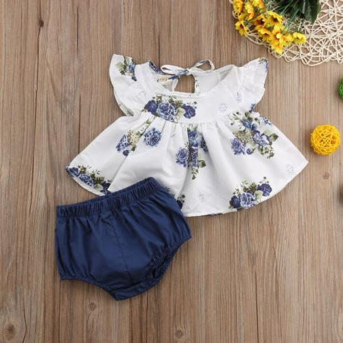 US Newborn Dress+Short