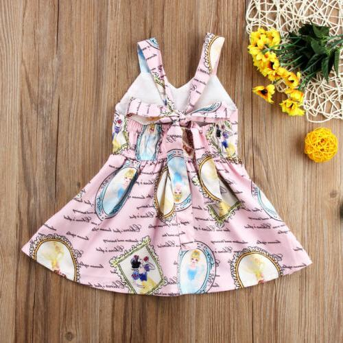USA Toddler Baby Summer Backless Party
