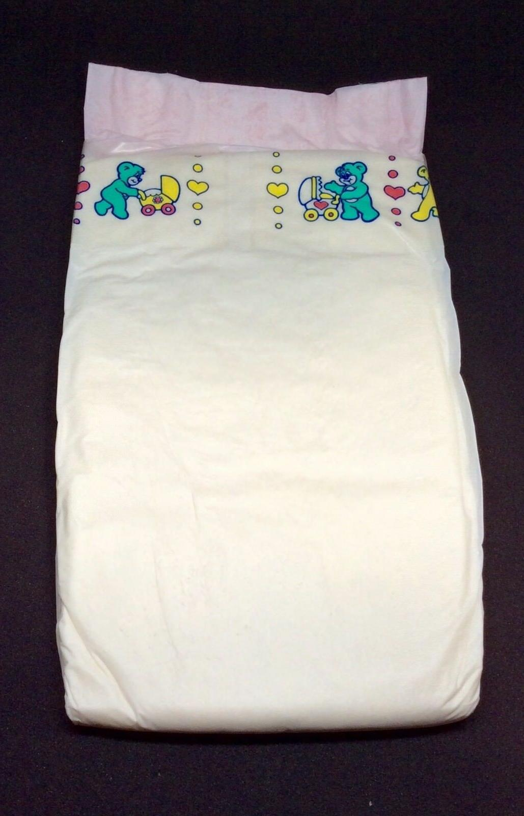 Vintage Pampers Phases Baby Dry Plus Diaper For Girls