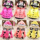 Winter Baby Kids Girls Long Sleeve Minnie Hoodie Hooded Jack