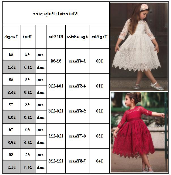 Lace Party Pageant 3-8Y