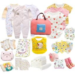 Papa Care Mixed Baby Girl Bodysuit Gift Set Includes 26 Piec
