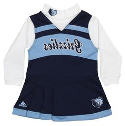 Adidas NBA Infant Memphis Grizzlies Cheer Jumper Dress with