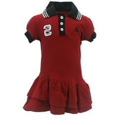 NC State Wolfpack NCAA Adidas Infant Toddler Girls Size Dres