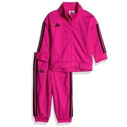 New Adidas Baby Girl's Pink Old school Tricot Jacket & Pants
