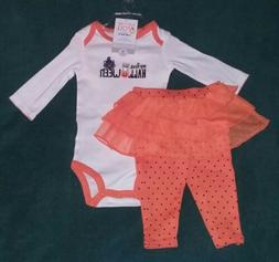 "NEW Carter's JOY 6 Month Baby Girl ""MY FIRST HALLOWEEN"" Body"
