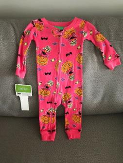 NEW Elmo Baby Holiday Halloween Footie One Piece Pajama Girl