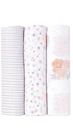 NEW Ideal Baby by Aden + Anais Muslim Swaddle Blankets Swadd