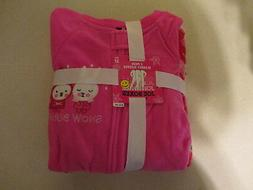 new infant toddler girl 2 pack footed