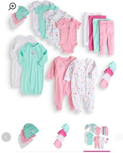 Garanimals Newborn Baby Girl Baby Shower Layette Gift Set, 2