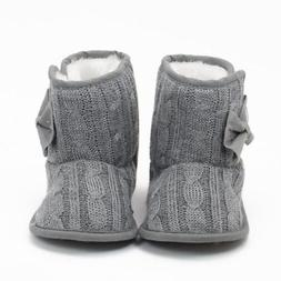 Newborn Baby Girl Boy Winter Warm Boots Toddler Infant Soft