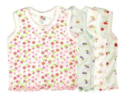 Newborn Baby Girl Clothes Tank Top Set Undershirt Pack Infan