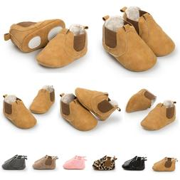 Newborn Fleece Shoes For Baby Girl Moccasins Anti-slip Boat