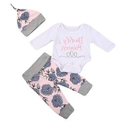 9cfe01e43c Emmababy Newborn Toddler Baby Boy Girl Outfits Clothes Set B