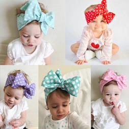 NEWCotton Girls Kids Baby Bow Hairband Headband Turban Knot