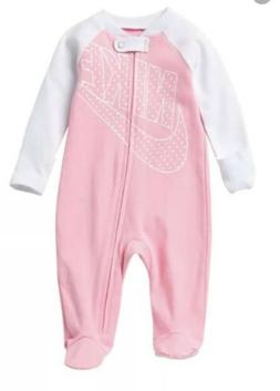 Nike Baby Girl Infant Futura Dot Coverall Footie One Piece
