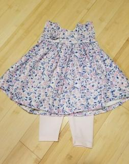 NWOT Catherine Malandrino Baby Girl Two-Piece Outfit Dress L