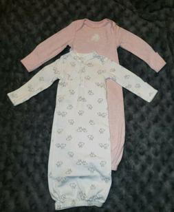 a6bc61837 NWOT Carters Baby Girl Clothes 3 Months 2 Bunny Pajama Sleep