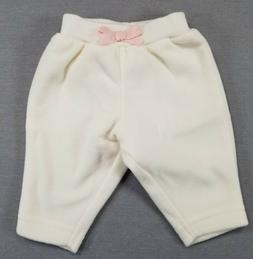 NWOT SIMPLE JOYS BY CARTER'S PREEMIE BABY GIRL FLEECE CREAMY