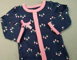 NWOT SIMPLE JOYS BY CARTER'S PREEMIE BABY GIRL BLUE & PINK F
