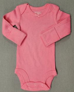 d815f796abd4e NWOT SIMPLE JOYS BY CARTER'S PREEMIE BABY GIRL SOLID PINK LO
