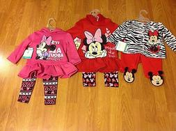 NWT Disney Baby & Disney Junior girls clothing - Various siz