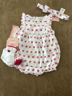 5212a3959 NWT Gymboree baby girl SUMMER pink white...