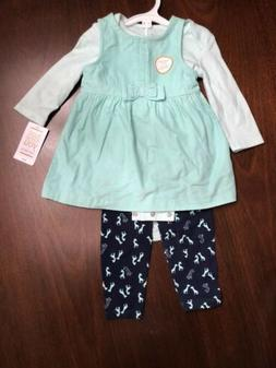 NWT Just One You by Carters Baby Infant Girls 3 piece set Lo