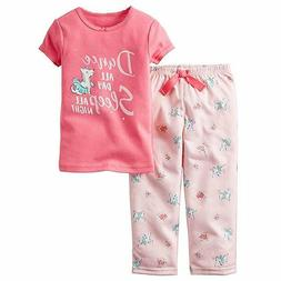 NWT CARTER'S BABY GIRL 2-Pc. Long-Sleeve Dance All Day Top &