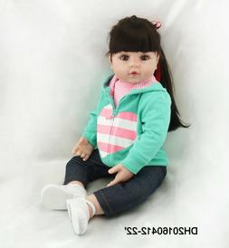 Pinky 22 Inch Realistic Looking Baby Girl Real Lifelike Rebo