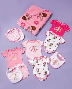 Precious Moment 11-Pc. Baby Gift Sets Boy Girls Bips Body Su