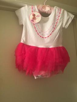 Princess Bodysuit Romper Tutu For Baby Girl 18-24 Mo's New