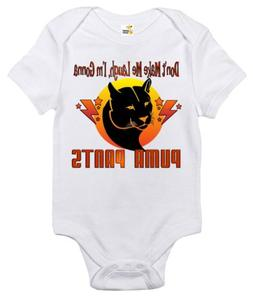 Puma Pants Baby Bodysuit Cute Funny Baby Clothes for Infant