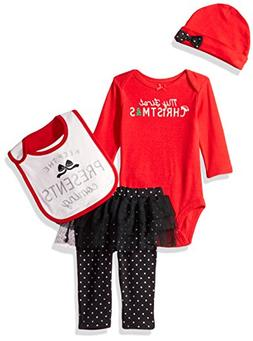 Simple Joys by Carter's Baby Girls' 4-Piece My First Christm
