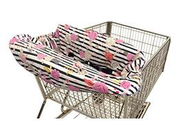 Itzy Ritzy Sitzy Shopping Cart and High Chair Cover, Floral