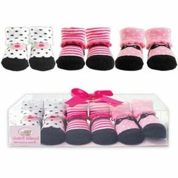 Socks Gift Set, 3-Pack, Pink Mary Jane Shoes