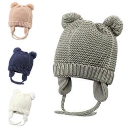 Soft Infant Baby Girl Boy Winter Hats Beanie Warm Knitted Ca