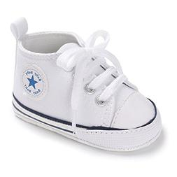 Unisex Baby Girls Boys Canvas Shoes Soft Sole Toddler First