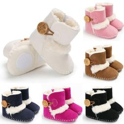 us baby girl boy snow boots winter