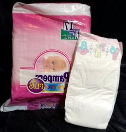 Vintage Pampers Phases Baby-Dry Plus Diaper Sz Maxi Plus for