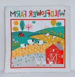 wildflower farm soft cloth books for baby