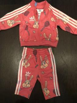 ADIDAS x Mini Rodini Baby Girl 3 Months Bunny Track Suit Two